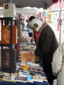 Marché du livre ancien, d'occasion et de la carte postale